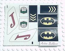 Lego 6863 STICKERS Batwing Joker Batman Logo * NEW