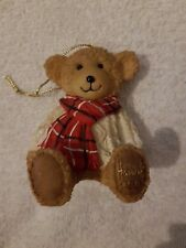 BN Harrods Resin Bear Christmas 2002 - Giles