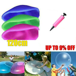 120cm Large Wubble Bubble Ball Firm Water Balloons Inflatable Soft Refillable