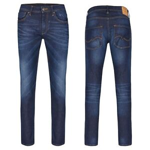 JACK & JONES Slim Fit Pantalon Jeans Glenn Bleu Denim Unisexe Gr. 27 - Gr. 34