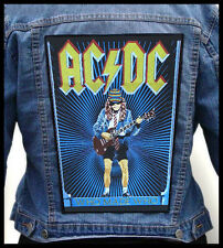AC/DC - Who Made Who --- Giant Backpatch Back Patch / Iron Maiden Van Halen