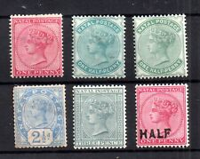 Natal QV mint MH collection to 3d Cat Val £50+ WS16242