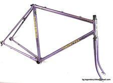 VINTAGE Race bike Frame Viscontea Made in Italy Lugged Steel eroica era