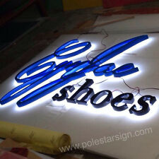 Customized 3D Led Lighting Shop Sign Business Logos Signage Channel Letters