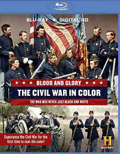 BLU-RAY Blood and Glory: The Civil War in Color (Blu-Ray, 2-Disc Set) NEW