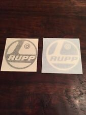 Rupp Mini Bike Vinyl Decal