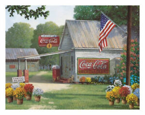 Coca Cola Country General Store 500 piece jigsaw puzzle 596mm x 457mm (sk)