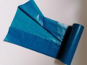 150 Müllsäcke blau 73 x 110cm, 730 x 1100 mm, ca. 120l , SONDERPOSTEN S15582/2M