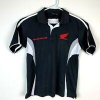 Honda Racing HRC Genuine Motorcycle Polo Shirt Size Men's Medium