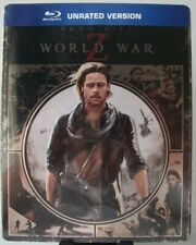 World War Z Blu-ray Target Exclusive Embossed Metalpak ~ Brad Pitt, Steelbook