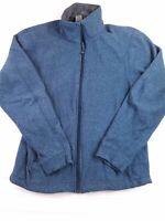 REI Men's Lightweight Hiking/Outdoor/Camping Full-zip Jacket Blue Size 5 E9