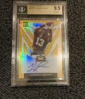 🔥2020 Leaf Valiant Kendrick Rogers On Card Rc /10 BGS 9.5 Autograph 10 Cowboys