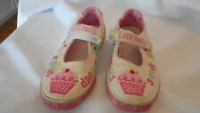 Lelli Kelly Cup Cake Tennis Shoes Size 33 Sweet Dreams Beads