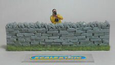 Vintage 1.32 STRAIGHT 'DRY' STONE WALL Perfect for SCALEXTRIC AIRFIX NINCO SCX+