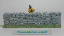"""Vintage """"seco"""" muro de piedra & Macho figura perfecto para Scalextric Airfix Ninco SCX +"""