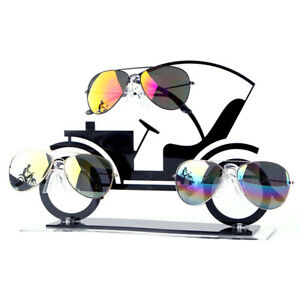 Acrylic Sunglass Display Stand Vehicle Shape Glasses Holder Stand Rack Shelf