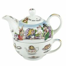 Official Paul Cardew Alice in Wonderland Tea For One Set - Boxed Gift Vintage