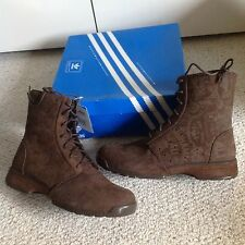 Adidas Muhammad Ali High Boot with Graphic, brown suede, NIB
