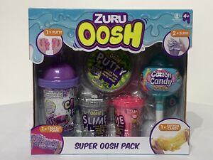 Zuru Oosh Super Oosh Pack Slime Putty Cotton Candy Crackle Foam