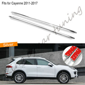 Roof rack fits for Porsche Cayenne 2011-2017 2pcs aluminium alloy baggage 2PCS