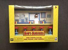 New Bob's Burgers Diner Diorama Playset PhatMojo - Bob Action Figure Sealed