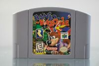 Banjo-Kazooie Game Authentic (Nintendo 64, 1998) N64 Authentic Cartridge Only