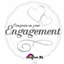 Unbranded Engagement Party Standard Balloons