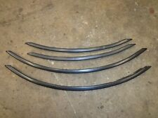 Toyota Supra MK3 1986.5-88 Complete Fender/Tire Well Outer Trim 4 pc set