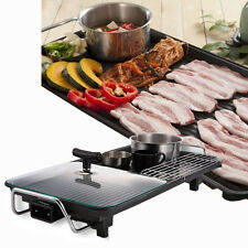 Magic Electric Grill Pan Portable BBQ Party Full-SET Camping HPT-900W Made Korea