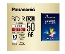 New Triple Coat Panasonic Bluray Disc 50GB Printable Bluray 2x Speed Region Free