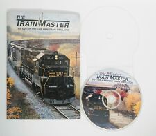 The TrainMaster 3-D Out-of-the-Cab View Train Simulator Master PC WIN 98 2000 ME