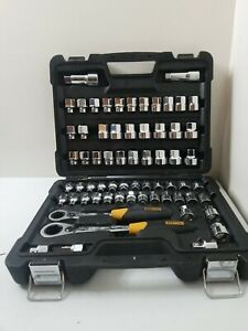 Bostitch 65 Piece Pass Thru Socket Set BTMT72287 RARE complete with case