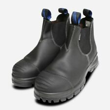 Blundstone 910 Steel Toe Safety Boots in Black CE S3