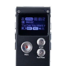 8GB CL-R30 650Hr Digital Voice Recorder Dictaphone with U Disk Function F BU