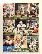 National Sports Collectors Convention 1992 Topps Stadium Club Promo Cards Un-Cut