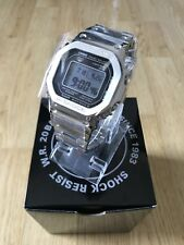 CASIO G-SHOCK GMW-B5000-1ER SILVER FULL METAL 35th ANNIVERSARY SQUARE JAPAN