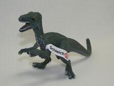 Schleich Velociraptor McDonalds Sondermodell mit Fähnchen  Dinosaurier