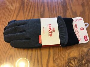 """men's """"Levi's"""" Active Fit/touch Screen Winter Gloves, Size XL"""