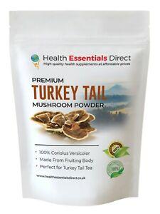 Turkey Tail Mushroom Powder (Made From Fruiting Body, Coriolus Versicolor)