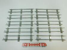 bk319-1 #10x MÄRKLIN escala 0 Vía / piezas de Vía Recto (26 cm) PARA