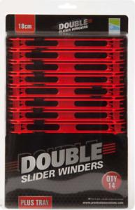 Preston Innovations Slider Winder Boxes Red 18cm