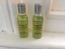 2 x Crabtree & Evelyn Verbena & Lavender shampoo Travel Size 24ml