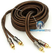 FOCAL ER5 (16.40 FT) HIGH PERFORMANCE 100% OXYGEN FREE COPPER AMPLIFIER RCA WIRE
