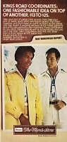 "1976 Football Star Gale Sayers photo ""The Sears Men's Store"" vintage print ad"