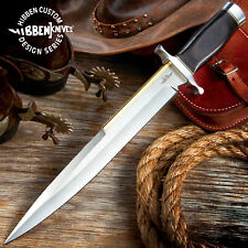 "18"" Gil Hibben Toothpick Fixed Blade Knife Military Bowie Expendables Stallone"