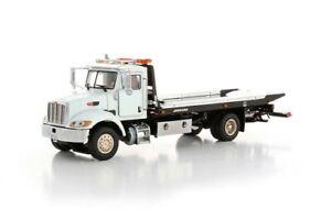 Peterbilt 335 Jerr-Dan Rollback Truck - White - TWH 1:50 Scale #080-01101 New!