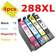 4x 288XL 288 XL Compatible Ink Cartridge for Epson XP-240 XP-340 XP-344 XP-440