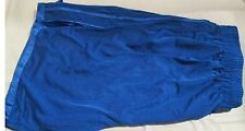Jogging Short 100% Polyester XL Royal Blue Heavy Weight 2 pocket Basketball