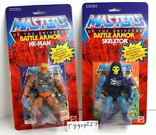 MOTU, Commemorative Battle Armor He-Man & Skeletor, MISB, MOC, box, sealed, NIP