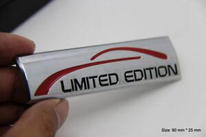 B291 Limied Edition Argent Emblème autocollants voiture badge Car Emblem new